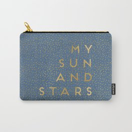 My Sun And Stars Carry-All Pouch