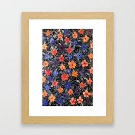 April Flowers Framed Art Print