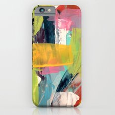 Hopeful[2] - a bright mixed media abstract piece iPhone 6s Slim Case