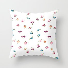 Blurred Spring Throw Pillow