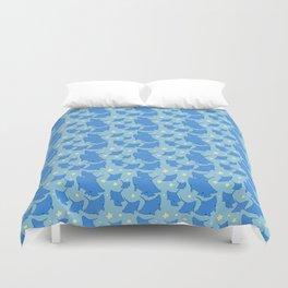 Manta Ray Pattern Duvet Cover