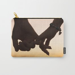 Holding Hands In The SunsetHolding Hands In The Sunset Carry-All Pouch