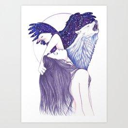 Wings Of An Eagle Art Print