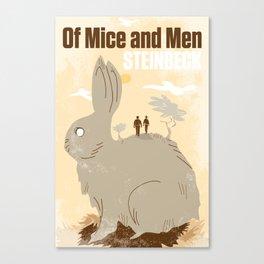 John Steinbeck Tribute Poster Canvas Print