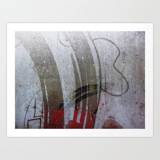 Urban Abstract 94 Art Print