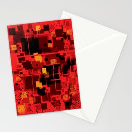 Abstract Composition #4 Stationery Cards