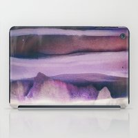 northern lights iPad Cases featuring Northern Lights by SpaceFrogDesigns