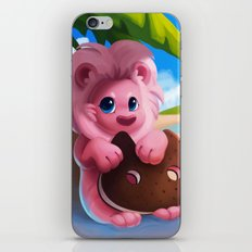 Lion on the Beach iPhone & iPod Skin