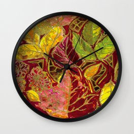 Fall Festival Wall Clock