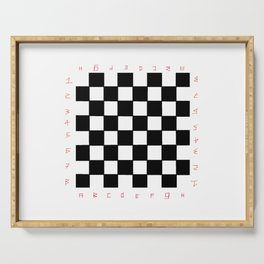 chessboard 2 Serving Tray