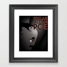 CASSANDRE SPIRIT - Edgar Allan Poe Framed Art Print