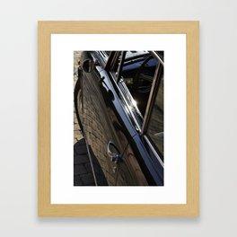 Lancia Aurelia GT Door Framed Art Print