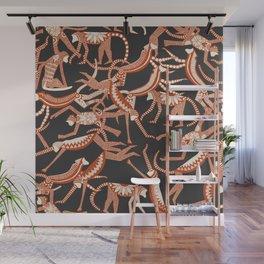 monkey Wall Mural