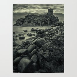 Kinbane Castle III Poster