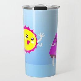Sun Hug Ice Cream Scream Travel Mug