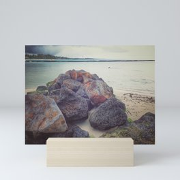 Rock belle mare Mini Art Print