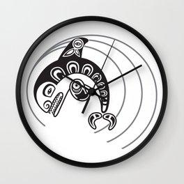 Killer Whale - spirit Wall Clock