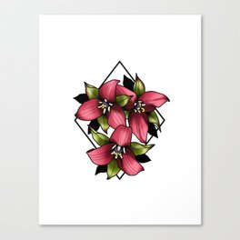 Trillium Canvas Print