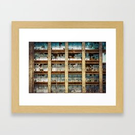 Broken Glass 3 Framed Art Print