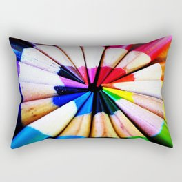 Color Round Rectangular Pillow