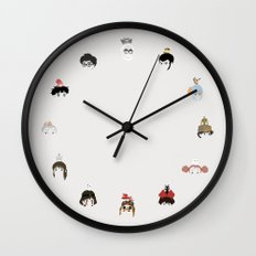 Miyazaki 's World Wall Clock