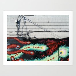 Wired Art Print