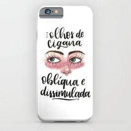 Capitu iPhone Case
