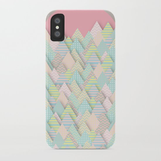 Forest Pastel iPhone Case