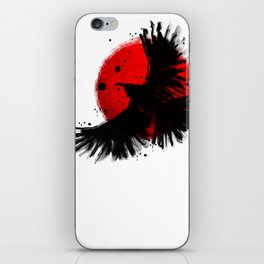 Black Crow iPhone Skin