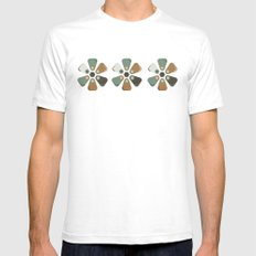 MCM Tile SMALL White Mens Fitted Tee