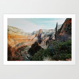 in the canyon Art Print
