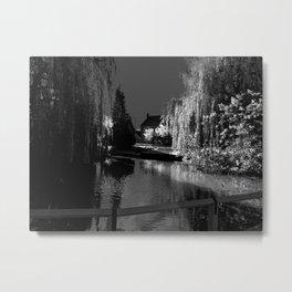 The English village pond Metal Print