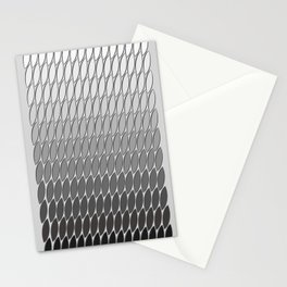 Silver Leaves Stationery Cards