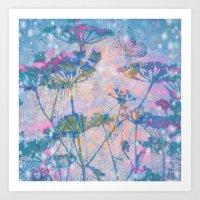 Mystical Meadow Art Print