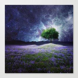 """""""Soul Tear"""" - Nature Meets Space Canvas Print"""