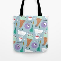 sport Tote Bags featuring SPORT by caramellong