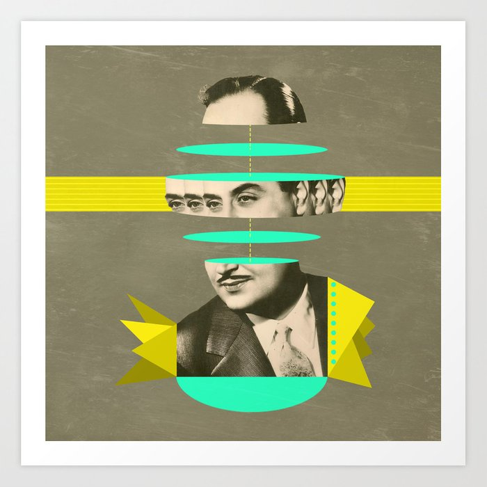 slices of Rossignol - Mariano Art Print