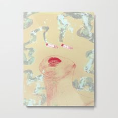 Delicious Cigarettes Metal Print