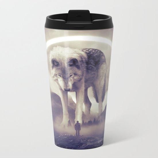 aegis II | wolf Metal Travel Mug