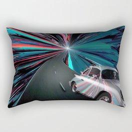 Just Visiting Rectangular Pillow