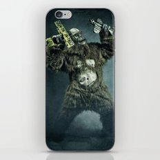King Kong plays it again iPhone & iPod Skin