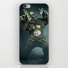 King Kong plays it again iPhone Skin