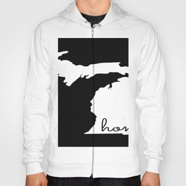 Michigan Home State Map Gifts Hoody