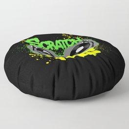 Scratch This Floor Pillow