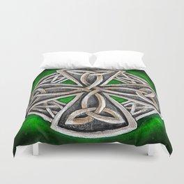 Celtic Cross  Duvet Cover