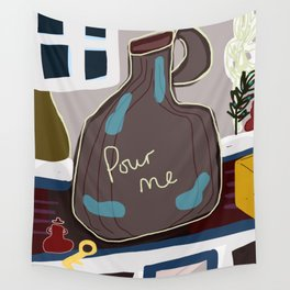 Pour Me Wall Tapestry