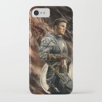 captain iPhone & iPod Cases featuring Captain by Linarts