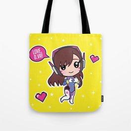 Cute Dva Tote Bag
