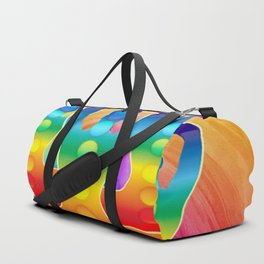 TRIPLE Om Meditation Mantra Chanting DESIGN Duffle Bag