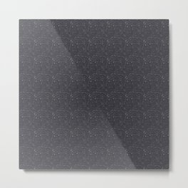 Rubber pup Tessellation Metal Print